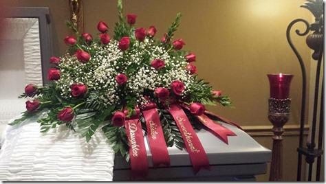 sarah funeral 1
